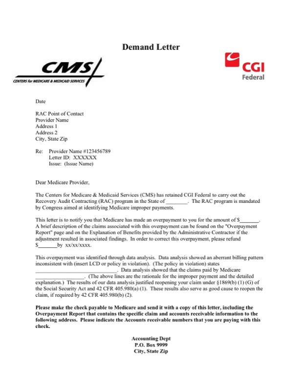 Automated Rebuttal Demand Letter