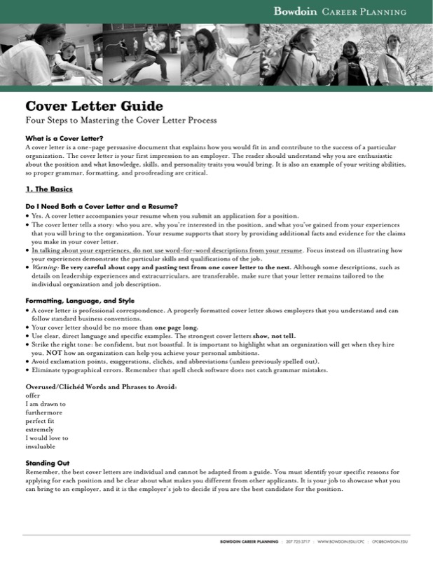 Format Of A Cover Letter Pdf Download