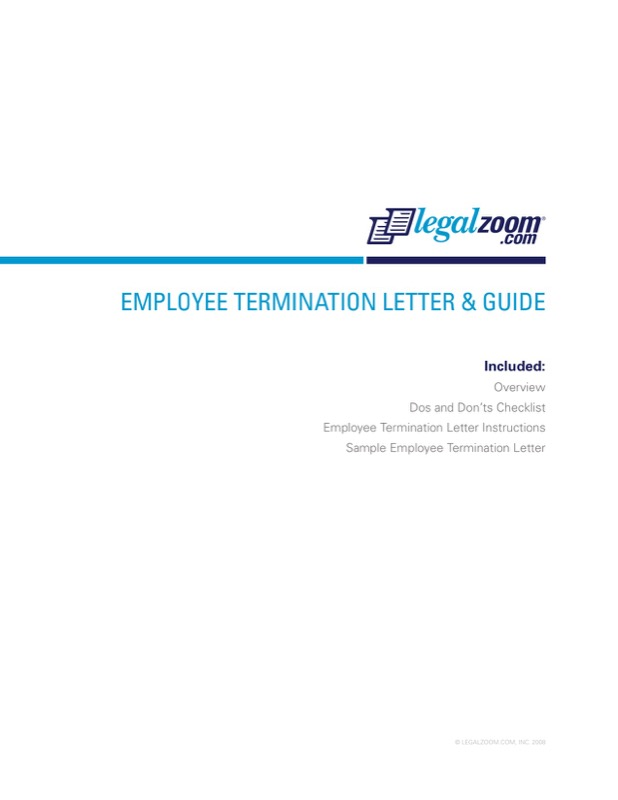 Free Employer Job Termination Letter and Guide