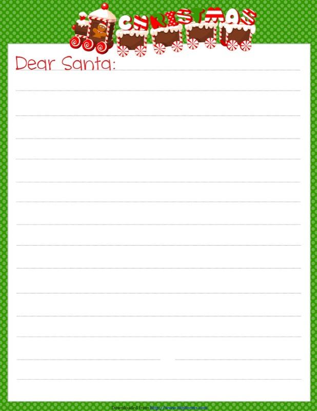 GingerDots Santa