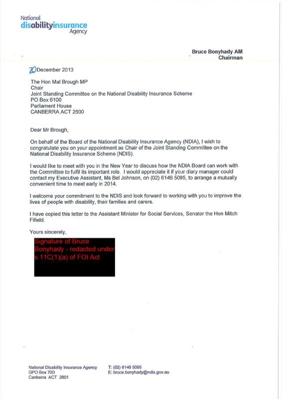 Letter of Congraduations