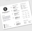 Resume Template with Example Photo